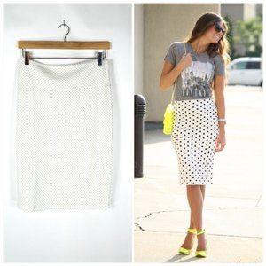 Lularoe Cassie Mini Dot Pencil Skirt